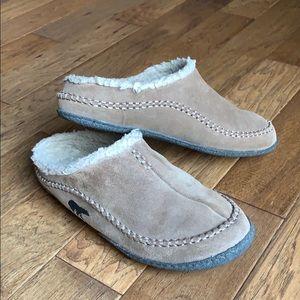 Sorel Leather Men's House Slippers